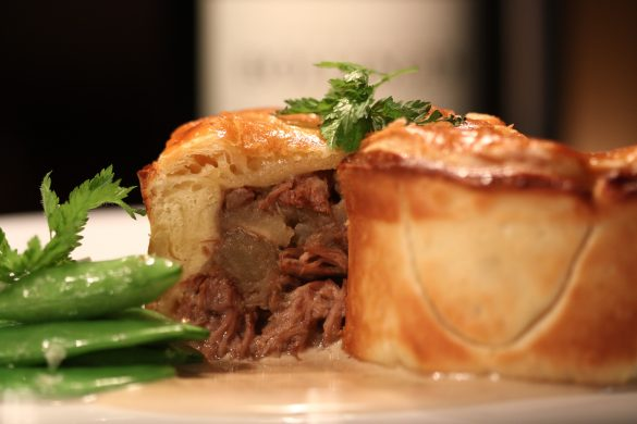 Steak and Lager Pie