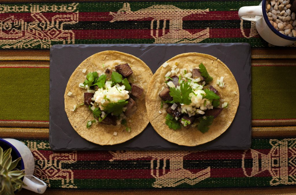 Recipe: Beef tongue tacos with salsa verde