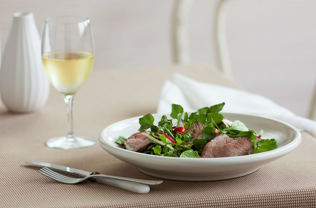 Recipe: Beef, fennel and radish salad