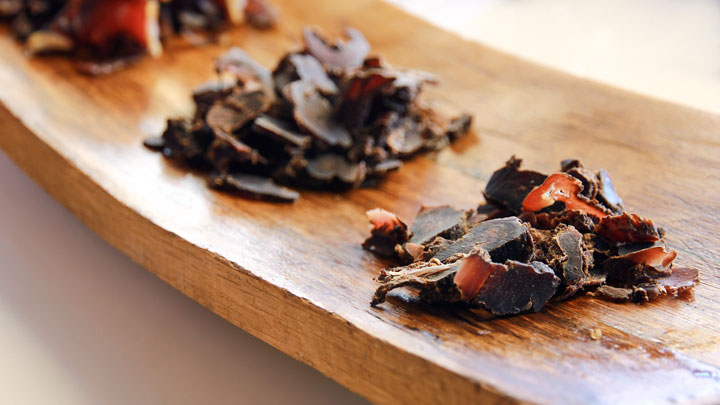 The difference between jerky and biltong