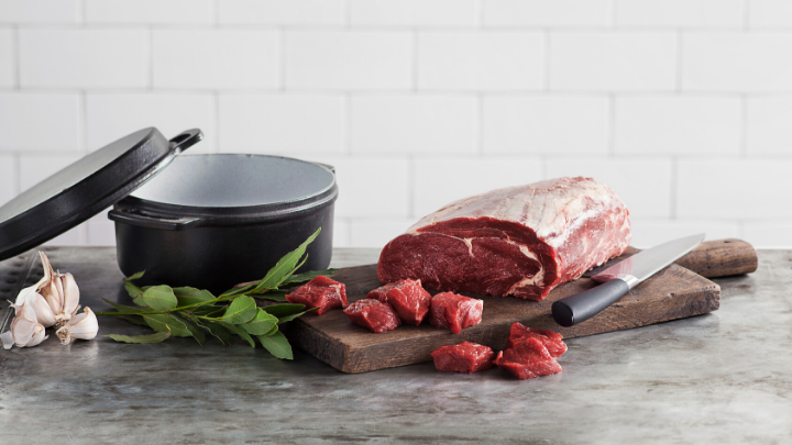 What are the health benefits of eating beef?