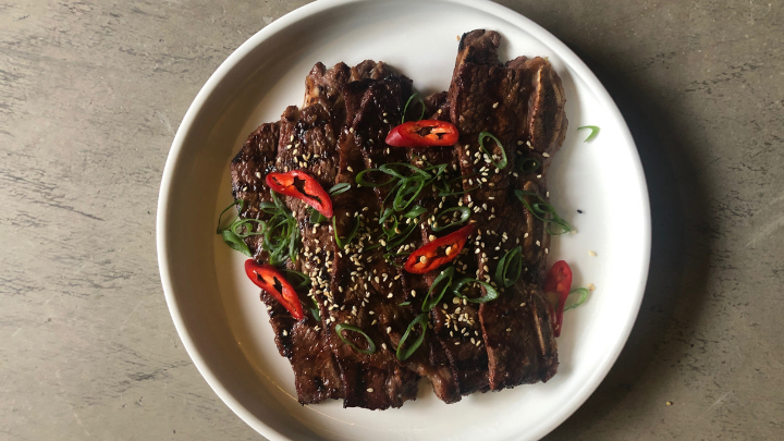 Recipe: LA Galbi (Korean Beef Short Ribs)